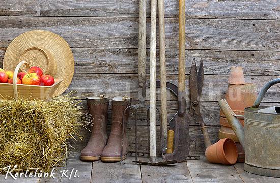 Az őszi munkák végeztével a szerszámokat is takarítsuk meg!