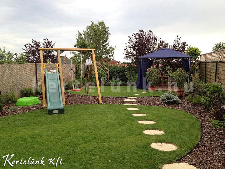 Íves formákkal tehetjük érdekessé a sorházak kertjeit.
