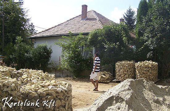 Megérkeztek a mediterrán kertek egyik alapeleme: a terméskövek