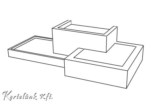 Határozott, egyenes formák jellemzik a minimál designt.