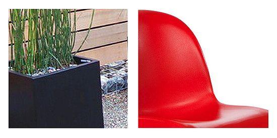 szögletes, modern kerti bútorok