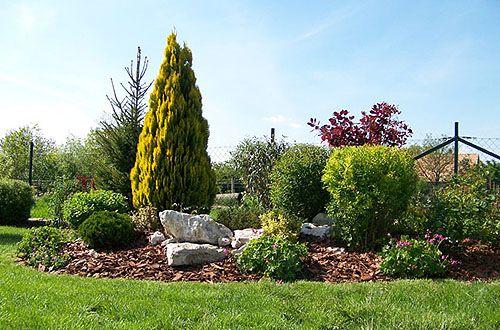egy kész zöldellő kert